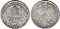 Mark 1875 A Kaiserreich  fast Stempelglanz  60,00 EUR  +  5,00 EUR shipping