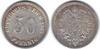 50 Pfennig 1875 C Kaiserreich  fast vorzüglich  35,00 EUR  +  5,00 EUR shipping