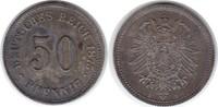 50 Pfennig 1875 Kaiserreich B Schöne Patina. fast Stempelglanz  85,00 EUR  +  5,00 EUR shipping