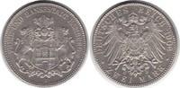 2 Mark 1906 Hamburg J Prachtexemplar. Fast Stempelglanz / Stempelglanz  160,00 EUR  +  5,00 EUR shipping