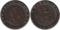 Twopence 1797 Grossbritannien George III. 1760-1820 'Cartwheel' Mehrere... 35,00 EUR  +  5,00 EUR shipping
