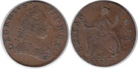 Halfpenny 1775 Grossbritannien George III. 1760-1820 winziger Randfehle... 65,00 EUR  +  5,00 EUR shipping