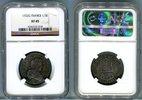 1/3 Ecu 1722 G Frankreich Königreich Ludwig XV. (1715-1774) NGC XF 45  235,00 EUR  +  5,00 EUR shipping