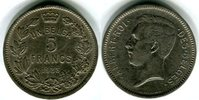 Belgien, Königreich 5 Francs Albert I. 1909-1934