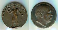 Deutsches Kaiserreich Bronzemedaille Personenmedaille auf den ersten Präsidenten des Reichsversicherungsamtes Bödiker