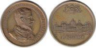 Ungarn Bronzemedaille Budapest Bronzemedaille 1885 Auf die ungarische Gedenkausstellung