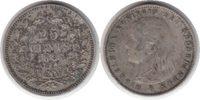 Niederlande 25 Cents Wilhelmina I. 25 Cents 1895