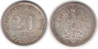 20 Pfennig 1875 Kaiserreich 20 Pfennig 1875 D vorzüglich - Stempelglanz  30,00 EUR  +  5,00 EUR shipping