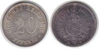 20 Pfennig 1876 Kaiserreich 20 Pfennig 1876 D Schöne Patina. fast Stemp... 45,00 EUR  +  5,00 EUR shipping