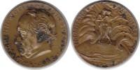 Münchner Medailleure Bronzemedaille Karl Goetz. Auf den 100 Todestag von Johann Wolfgang von Goethe