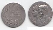 """Haus Habsburg Silbermedaille Franz Joseph I. (1848-1916) """"Auf die Goldene Hochzeit Erzherzogs Rainer&quo"""