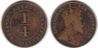 1/4 Piaster 1905 Zypern Edward VII. 1902-1910 Randfehler, schön - sehr ... 40,00 EUR  +  5,00 EUR shipping