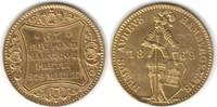 Dukat 1869 Hamburg-Stadt  Gold. Etwas gewellt. kl Randfehler, Kratzer, ... 395,00 EUR  +  5,00 EUR shipping