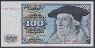 Deutschland 100 DM Sebastian Münster, Austausch-/Ersatznote Serie ZN/A, kassenfrisch