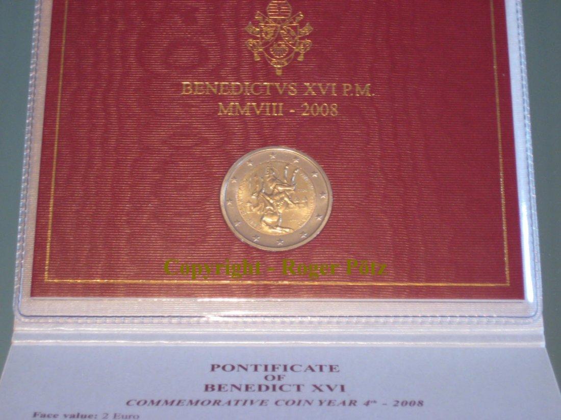 2 Euro 2008 Vatikan 2 Euro 2008 Paulusjahr im Originalblister st st
