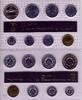 DDR 8,86 Euro Kursmünzensatz DDR KMS 1988 1 Pfg. - 5 Mark mit Brandenburger Tor st
