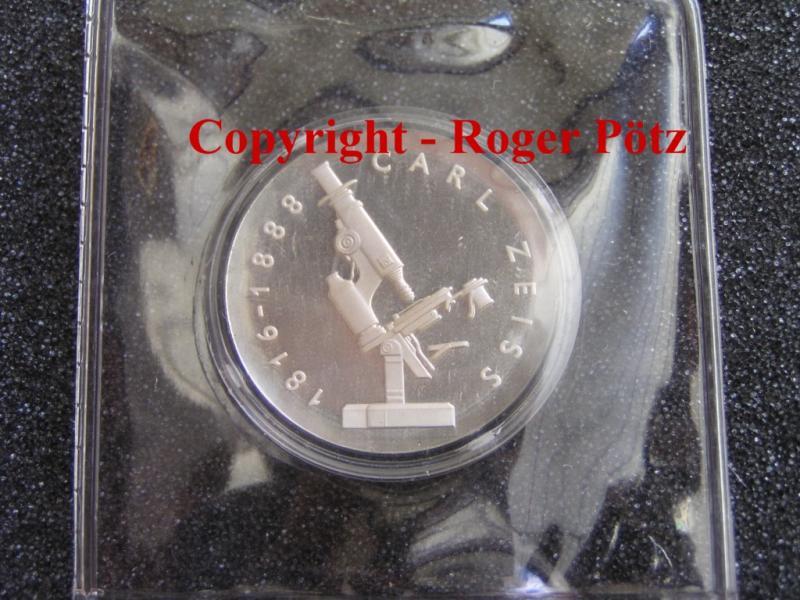 20 Mark 1988 DDR Carl Zeiss polierte Platte original -rar - PP