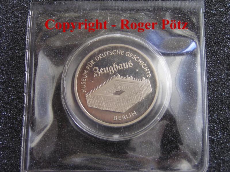 5 Mark 1990 DDR 5 M 1990 Zeughaus PP originalverpackt PP ( polierte Platte ) OVP