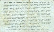 22.5.1916 FRANZÖSISCHE NOTSCHEINE Douai et Région de Carvin (59). Billet. 50 centimes 22.5.1916, 1ère série A s