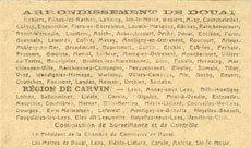 22.5.1916 FRANZÖSISCHE NOTSCHEINE Douai et Région de Carvin (59). Billet. 25 centimes 22.5.1916, 2e série I I