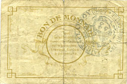 FRANZÖSISCHE NOTSCHEINE Lannoy (59). Ville. Billet. 50 centimes, 3e série s