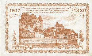8.12.1917 FRANZÖSISCHE NOTSCHEINE Mayenne (53). Ville. Billet. 50 centimes 8.12.1917 I