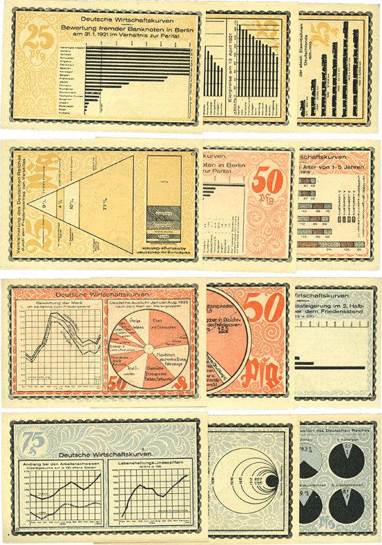 1921-10-15 DEUTSCHLAND - NOTGELDSCHEINE (1914-1923) K -Z Kahla. Stadt. Série de 12 billets. 25 pf (4ex), 50 pf (4ex), 75 pf (4ex) 15.10.1921,