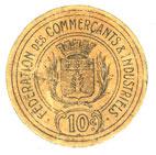 FRANZÖSISCHE NOTSCHEINE Montauban (82). Fédération des Commerçants et Industriels. Billet. 10 centimes ss