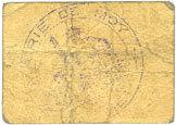 6.9.1915 FRANZÖSISCHE NOTSCHEINE Moy (02). Commune. Billet. 5 centimes 6.9.1915 s