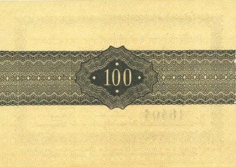 1922-10-31 DEUTSCHLAND - NOTGELDSCHEINE (1914-1923) K -Z Lauenburg a. d. Elbe, Sparkasse der Stadt, billet, 100 mark 31.10.1922 I