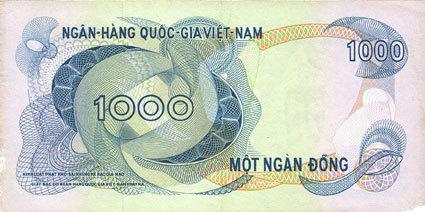 1971 ANDERE AUSLÄNDISCHE SCHEINE Vietnam du Sud. Banque Nationale du Vietnam. Billet. 100 dong (1971) ss