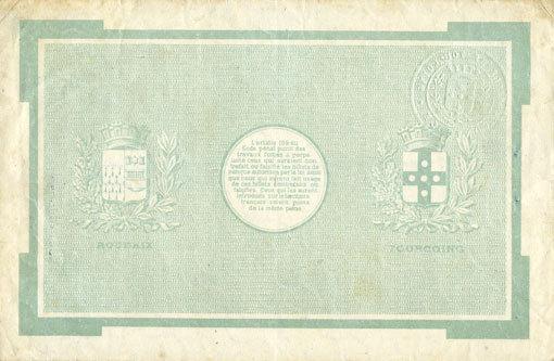 20.4.1916 FRANZÖSISCHE NOTSCHEINE Roubaix et Tourcoing (59). Billet. 50 francs du 20.4.1916, 7e série. N° 5204 ss+