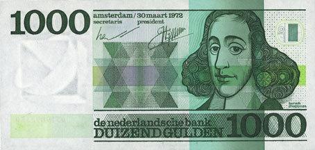 30.3.1972 ANDERE AUSLÄNDISCHE SCHEINE Pays Bas. Billet. 1000 gulden 30.3.1972 vz