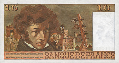 6.7.1978 BANKNOTEN DER BANQUE DE FRANCE Banque de France. Billet. 10 francs, Berlioz, 6.7.1978 I