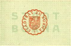 1918-12-31 DEUTSCHLAND - NOTGELDSCHEINE (1914-1923) A - J Borna. Stadt. Billet. 50 pf n.d. - 31.12.1918 Petite tache de rousseur sinon neuf