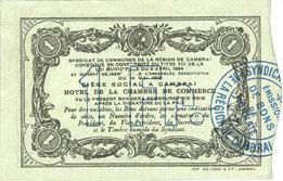 10.5.1916 FRANZÖSISCHE NOTSCHEINE Cambrai (59). Syndicat de Communes de la Région de Cambrai. Billet. 1 franc 10.5.1916, série H vz
