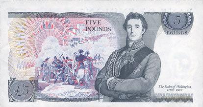 1987-1988 ANDERE AUSLÄNDISCHE SCHEINE Grande Bretagne. Billet. 5 livres (1987-1988) vz+