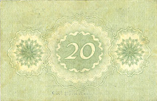 29.3.1920 DEUTSCHLAND - NOTGELDSCHEINE (1914-1923) A - J Essen. Fried. Krupp Aktiengesellschaft. Billet. 20 mark 29.3.1920 ss