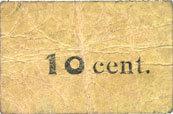 FRANZÖSISCHE NOTSCHEINE Condé-sur-l'Escaut (59). Charcuterie (Ern)est Auverdun, rue Gambetta. Billet. 10 cent. Inédit ! Inédit ! s