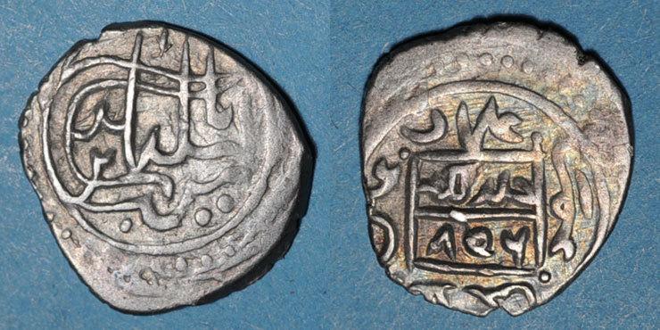 806H ISLAM Anatolie. Ottomans. Sulayman Celebi (804-813H). Akce 806H ss