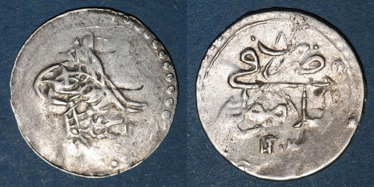 1203H ISLAM Anatolie. Ottomans. Selim III (1203-1222H). Para 1203H an 8, Islambul (Istanbul) s+