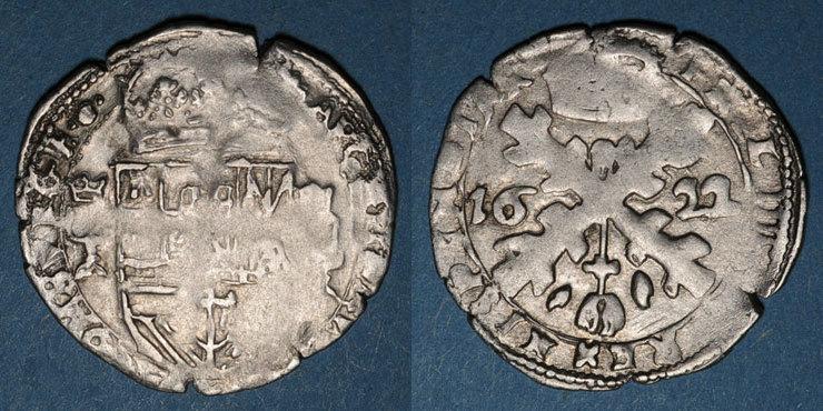 1622 ANDERE FEUDALE MÜNZEN Franche Comté. Comté de Bourgogne. Philippe IV (1621-1665). Gros (= 1/32 patagon) 1622. Dôle s / s-ss