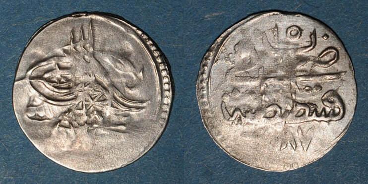 1187H ISLAM Anatolie. Ottomans. Abd al-Hamid I (1187-1203H). Para 1187H / an 15, Constantinople s / B à s