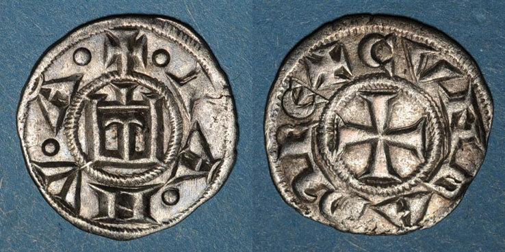 EUROPA Italie. Gênes. République (1139-1339). Denier ss+