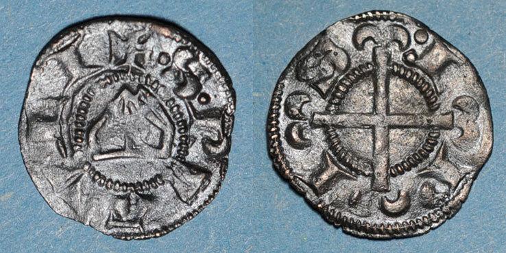 1225-1250 ANDERE FEUDALE MÜNZEN Dauphiné. Evêché de Saint-Paul-Trois-Châteaux. Monnayage anonyme (1225-1250). Obole (billon) ss