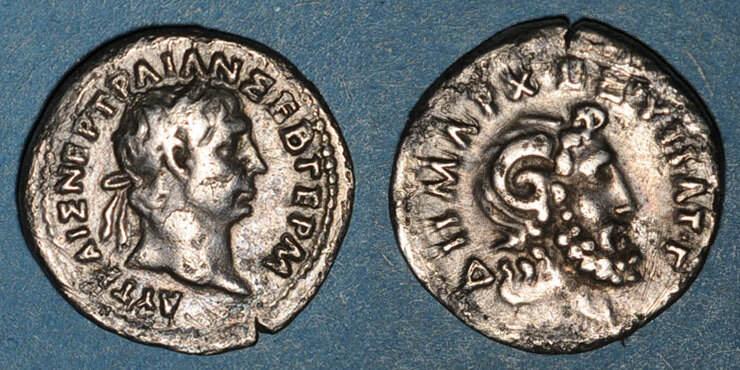 100 RÖMISCHE PROVINZIALPRÄGUNGEN Trajan (98-117). Hémidrachme. Cyrène (Cyrénaïque), 100 ss- / ss
