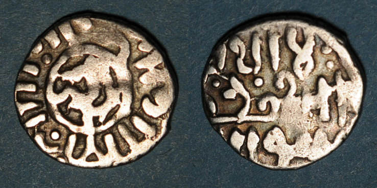 857-865H ISLAM Syrie. Mamelouks Burjites. Aynal (857-865H). Dirham (Alep) s / s+