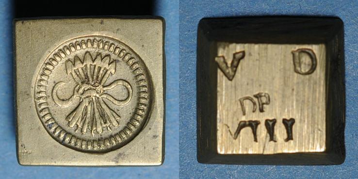 GEWICHTE Espagne. Poids monétaire du double réal de Ferdinand et Isabelle (14741504) Superbe