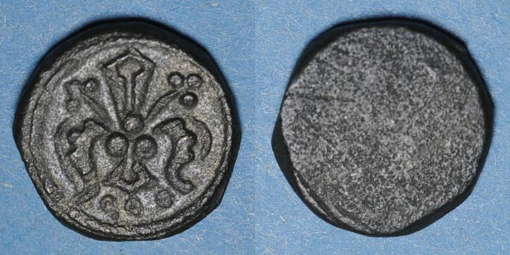 GEWICHTE Espagne. Aragon. Poids monétaire du florin catalan. Fabrication française XIVe siècle ss