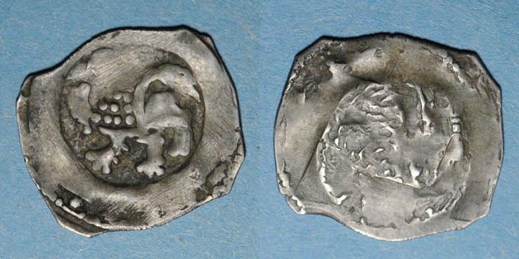 1231-1240 ALTDEUTSCHLAND MÜNZEN Regensburg. Othon II l'Illustre (1231-1240). Pfennig, vers 1230-1240 s / sge